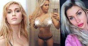 Švédku Pixee Fox doma už nepoznávají: Vyoperovaná žebra, změna duhovek i plastika zadku