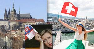 Švýcarsko je nejlepší zemí pro život! Česko si polepšilo, Slováci zaplakali