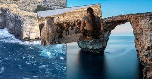 Malta přišla o Azurové okno! Bouře strhla skalní oblouk známy ze Souboje titánů či Hry o trůny