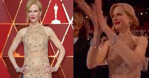Nicole Kidman vysvětlila lachtaní potlesk na Oscarech: Bála jsem se o…
