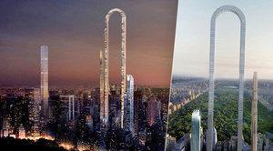 Odvážná vize pro New York: Mrakodrap do oblouku o délce 1200 metrů