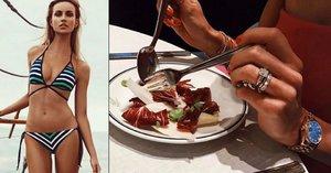 Tajemství ultra štíhlé figury Berdychovy Ester: Dva hrášky a tři lístky salátu k jídlu