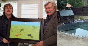 Karel Vágner po oslavě 75. narozenin: Co všechno dostal? Jezírko i ňadro na zdi!
