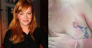 Spálená Geislerová: Svlékla se do naha a ukázala na prsu tetování od dcery