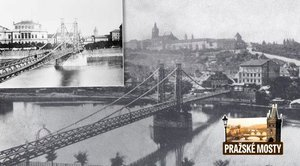 Zapomenutá lávka na Klárově: Vedla k Rudolfinu, pak ustoupila Mánesovu mostu