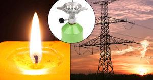 Jídlo, baterky a vařič: Česku hrozí blackout, připravte se, radí experti