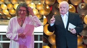 Marián Labuda na předáváni filmových cen: Žiju, přátelé!