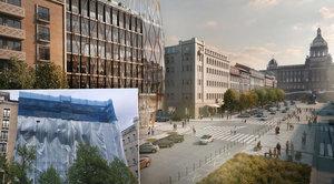 Na Václaváku se chystá demolice domu: I přes protesty tu vznikne novostavba