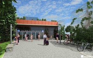 Z metra D postaví zatím jen dvě stanice: Pankrác a Olbrachtovu. Začnou za 2 roky