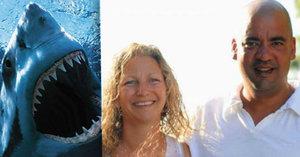 Pohotový hrdina zachránil manželku: Žraloka zahnal pěstí!