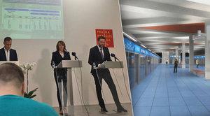Práce na metru D začnou v roce 2019: Nejdřív pojede mezi Pankrácí a Olbrachtovou