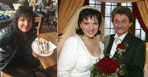 Vdova po Brabcovi (†63) Rezková: Cpala se dortem na počest hitu Borůvková