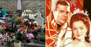 Představitelka císařovny Sissi nemá klid ani po smrti: Znesvětili hrob Romy Schneider!
