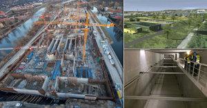 Mimo zraky Pražanů roste letošní nejdražší stavba. Lidé se díky čističce zbaví zápachu