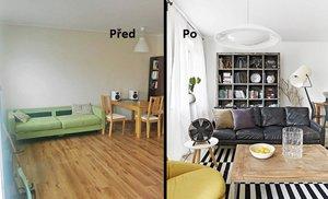 Proměna: Jak vtipně a účelně propojit obývák s kuchyní?