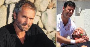 O popravě ikony módního návrhářství natáčí krimiseriál: Ricky Martin pláče nad zastřeleným Versacem!