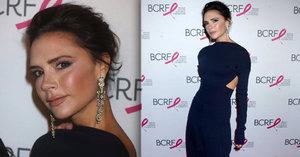 Trapas Victorie Beckham: Návrhářka ukázala šílený make-up!