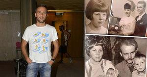 Foto bolesti i lásky: Vojtek ukázal fotku rodičů, které mu vzala rakovina a infarkt