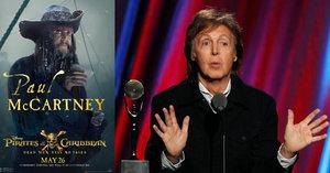 Nová role pro Paula McCartneyho: Slavný »Brouk« pirátem z Karibiku!