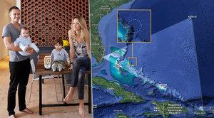 Královna večírků i s dětmi zmizela v bermudském trojúhelníku. Našli jen trosky