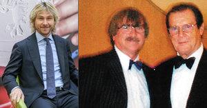 Zesnulý představitel Jamese Bonda Roger Moore: Znal se s Karlem Vágnerem a obdivoval Pavla Nedvěda