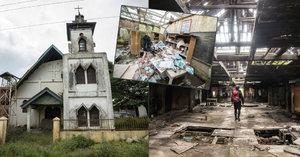Zběsilý útěk z domova: Takhle vypadá město duchů pod aktivní sopkou