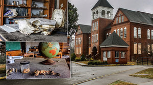 Univerzitu pro osvobozené otroky zahubily finanční problémy: Chátrající kampus nahání hrůzu