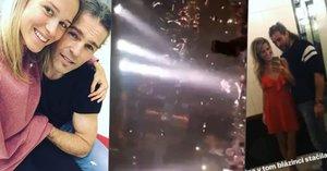 Kopřivová s Jágrem na tahu: Křepčení na diskotéce jim vydrželo hodinu