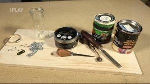 Vychytávky Ládi Hrušky: Vyrobte si uvítací cedulku na dveře