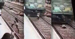 Dívku (19) srazil vlak, protože měla sluchátka v uších. Zázrakem přežila!