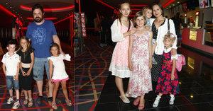 Premiéra filmu Auta 3: Žádníkovou přerostla dcera, »fracek« Novotný to schytal od neteře