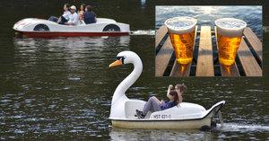 Policejní kontroly na Vltavě: Na šlapadle a lodičkách pivo raději ne!