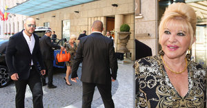 Ivana Trump předvedla Česku luxus: Jen kabelka za 600 tisíc korun!