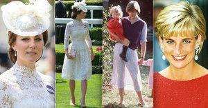 Vévodkyně Kate odhalila štíhlé nožky: Průsvitná jako Diana!