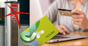 """Revoluce v používání Lítačky! Kartu už nedobijete přes validátor, můžete ji mít na """"kreditce"""""""