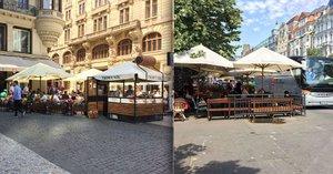 Peklo pro stovky předzahrádek: Podnikatelé v Praze každý rok pracně žádají o povolení