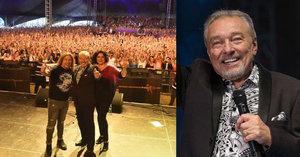 Gott zbořil slovenský rockový festival Topfest: Fanoušci mu zazpívali!