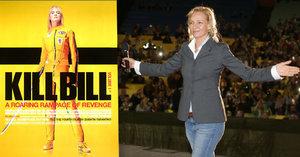 Zmatená Uma Thurman v letním kině: Vběhla na pódium předčasně a pak se omlouvala