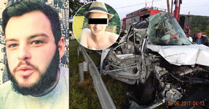 Taxikář vjel se zákazníky pod vlak: Petrovi (21) tají smrt kamaráda