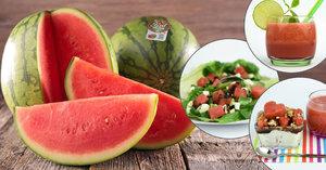 Melounové pošušňání: 5 báječných receptů na celé menu