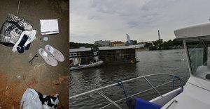 Boty, brýle a zápisník urovnala u břehu a šla se utopit: Zoufalou ženu (30) vytáhli z Vltavy strážníci