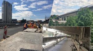 Opravy Nuseláku se po pěti letech blíží do cíle. Má nový povrch i širší chodníky