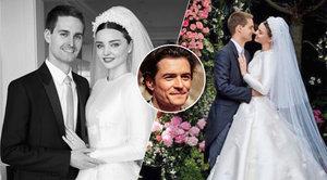 Miranda Kerr ukázala fotky z utajované veselky: O svatbě mlčela skoro dva měsíce