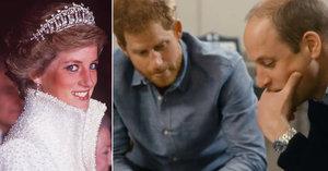 Poslední telefonát princezny Diany (†36) před smrtí: Williama a Harryho dodnes trápí!