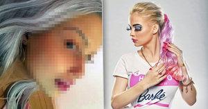 Česká Barbie (17) odhalila pravou tvář: Bez tuny make-upu je k nepoznání!