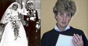 Princezna Diana na tajné nahrávce popsala sex s Charlesem! Britové zuří