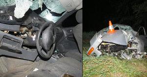 Boural opilý a bez řidičáku v autě bez technické: Mladík (19) těžce zranil 4 lidi