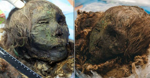 Má vlasy, obočí i zuby: Led na Sibiři vydal 900 let starou mumii Polární princezny