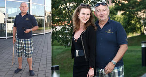 Milovník mladých slečen Vyskočil (71): K chůzi používá hůl!
