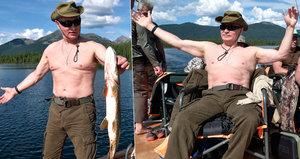 """""""Prezident není modelka."""" Na rybařícího Putina podal ruský poslanec udání"""